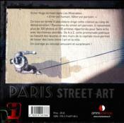 Paris street art - 4ème de couverture - Format classique