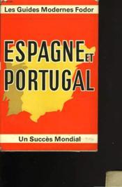 Espagne et Portugal. 20 photos en noir - 8 photos en couleur - 16 cartes en couleur - Dessins - Carnet de membre du Club des lecteurs - Couverture - Format classique