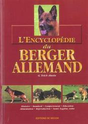 Encyclopedie Du Berger Allemand (L') Relie