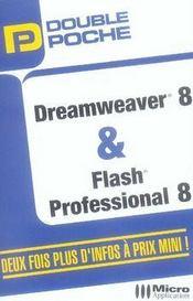 Double poche ; dreamweaver 7 et flash 8