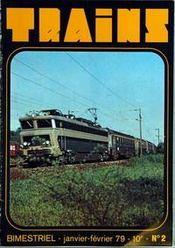 Trains N°2 du 01/01/1979
