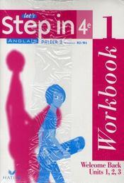 Anglais ; 4ème ; palier 2, niveaux A1/B1 ; workbook (édition 2008)