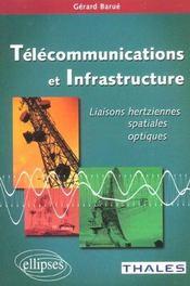 Telecommunications Et Infrastructure Liaisons Hertziennes Spatiales Optiques
