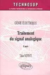 Genie Electrique Traitement Du Signal Analogique Cours