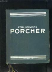 Catalogue 30 Etablissements Porcher- Appareils Sanitaires- Salle De Bains- Cabinets De Toilette- Hydrotherapie