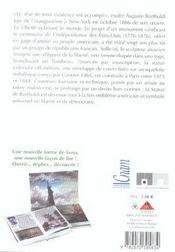 La Statue De La Liberte - 4ème de couverture - Format classique