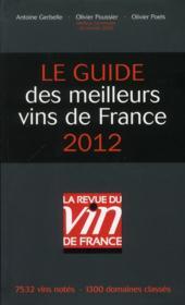 Le guide des meilleurs vins de France (édition 2012) - Couverture - Format classique
