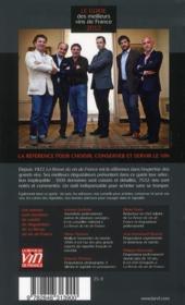 Le guide des meilleurs vins de France (édition 2012) - 4ème de couverture - Format classique