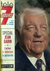 Tele 7 Jours N°861 du 27/11/1976