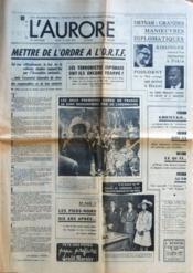 Aurore (L') N°8642 du 15/06/1972