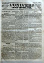 Univers (L') N°536 du 30/01/1844