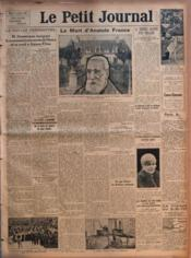 Petit Journal (Le) N°22552 du 14/10/1924