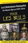 Livres - La littérature française pour les nuls t.1