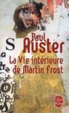 Livres - La vie intérieure de Martin Frost