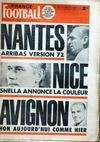 Presse - France Football N°1351 du 22/02/1972