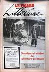 Presse - Figaro Litteraire (Le) N°13267 du 27/04/1987