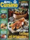 Presse - Maxi Cuisine N°1 du 01/04/1998