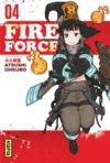 Livres - Fire force T.4