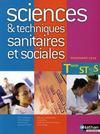 Livres - Sciences et techniques sanitaires et sociales ; terminale ST2S ; livre de l'élève (édition 2008)