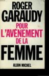 Livres - Pour l'avènement de la femme