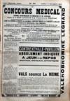 Presse - Concours Medical (Le) N°50 du 12/12/1903