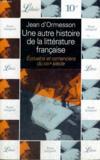 Livres - Autre His Lit Frse Ecriv6