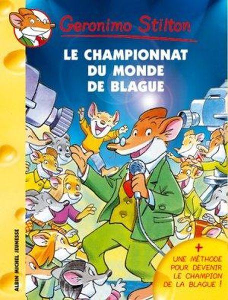 Livre le championnat du monde des blagues geronimo stilton for Championnat du monde de boules carrees