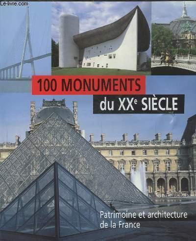 Livre 100 monuments du xxe siecle patrimoine et for Architecture xxe siecle