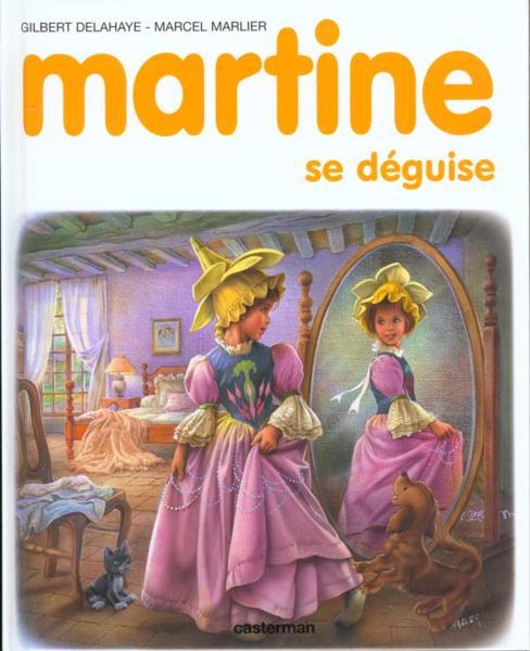 livre martine martine se d guise gilbert delahaye. Black Bedroom Furniture Sets. Home Design Ideas