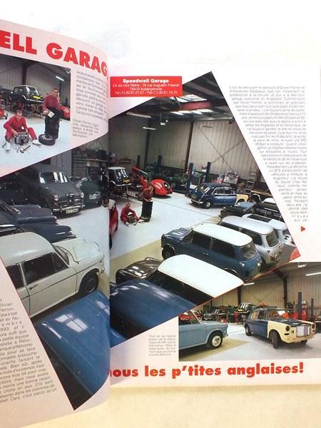 livre british cars le magazine de la voiture anglaise n 16 juillet ao t 1994 mg rv8. Black Bedroom Furniture Sets. Home Design Ideas
