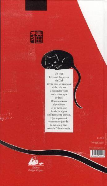 livre le rat m 39 a dit la vraie histoire du zodiaque chinois marie sellier. Black Bedroom Furniture Sets. Home Design Ideas