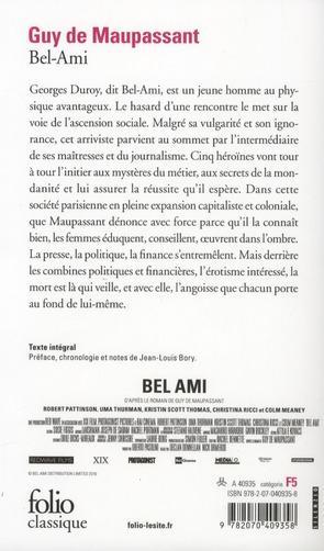 Dissertation Maupassant Bel Ami