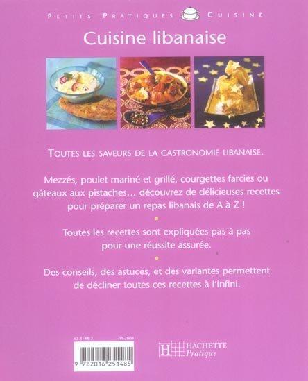 livre de cuisine libanaise pdf