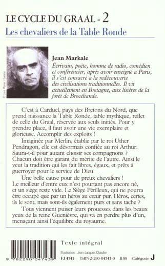 Livre cycle graal cheval table2 markale jean - Le cycle arthurien et les chevaliers de la table ronde ...