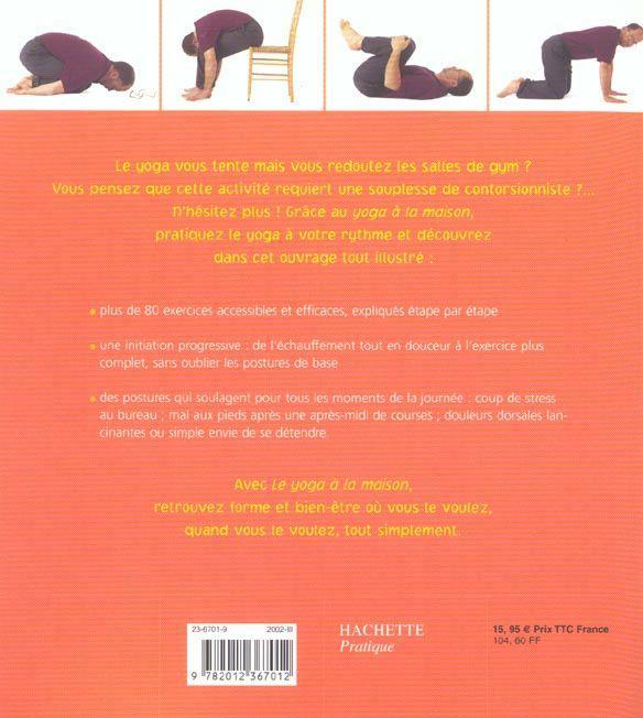 Livre le yoga a la maison miriam austin for Apprendre le yoga a la maison
