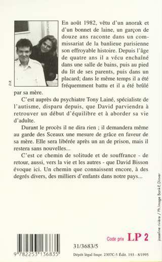 Livre l 39 enfant derriere la porte david bisson - David l enfant du placard ...