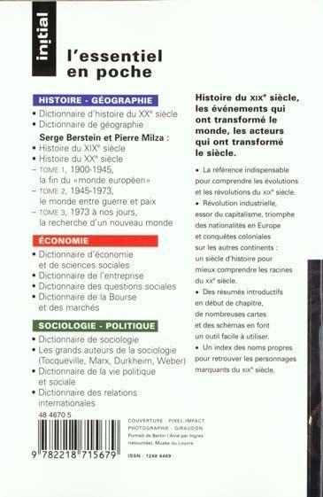 histoire du xixe siecle berstein 1996 pdf