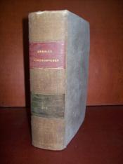 Annales agronomiques. Volume 3 et 4
