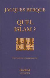 Quel islam ?