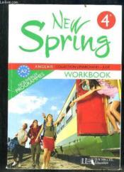 Anglais ; 4ème ; LV1 ; workbook (édition 2008)
