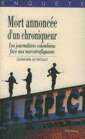 Mort Annoncee D'Un Chroniqueur