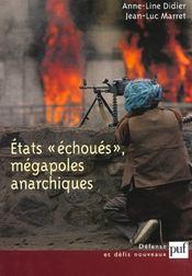 Iad - Etats Echoues, Megapoles Anarchiques