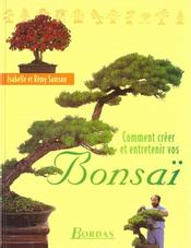 livre comment creer et entretenir un bonsai isabelle samson acheter occasion octobre 1998. Black Bedroom Furniture Sets. Home Design Ideas