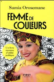 Femme de couleurs - Couverture - Format classique