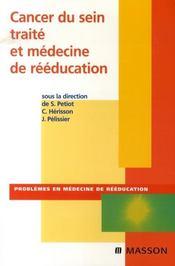 Cancer du sein et médecine de rééducation