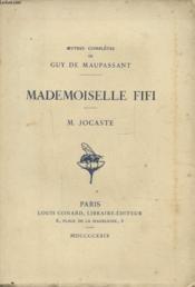 Mademoiselle Fifi - M. Jocaste