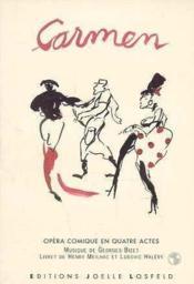Carmen : opera comique en quatre actes