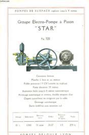 pompes deloule pompes mecaniques de surface et pour puits profonds album n 16 1932. Black Bedroom Furniture Sets. Home Design Ideas