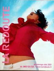 Catalogue De La Redoute A Roubaix du 01/04/2001
