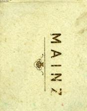 Erinnerung An Mainz, Souvenir De Mayence, Souvenir Of Mayence - Couverture - Format classique